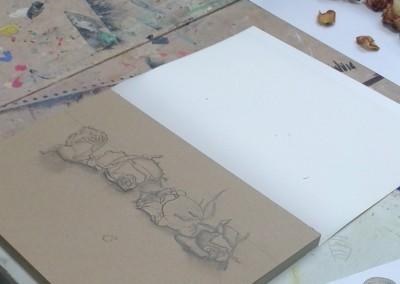 Zeichnen nach Objekten